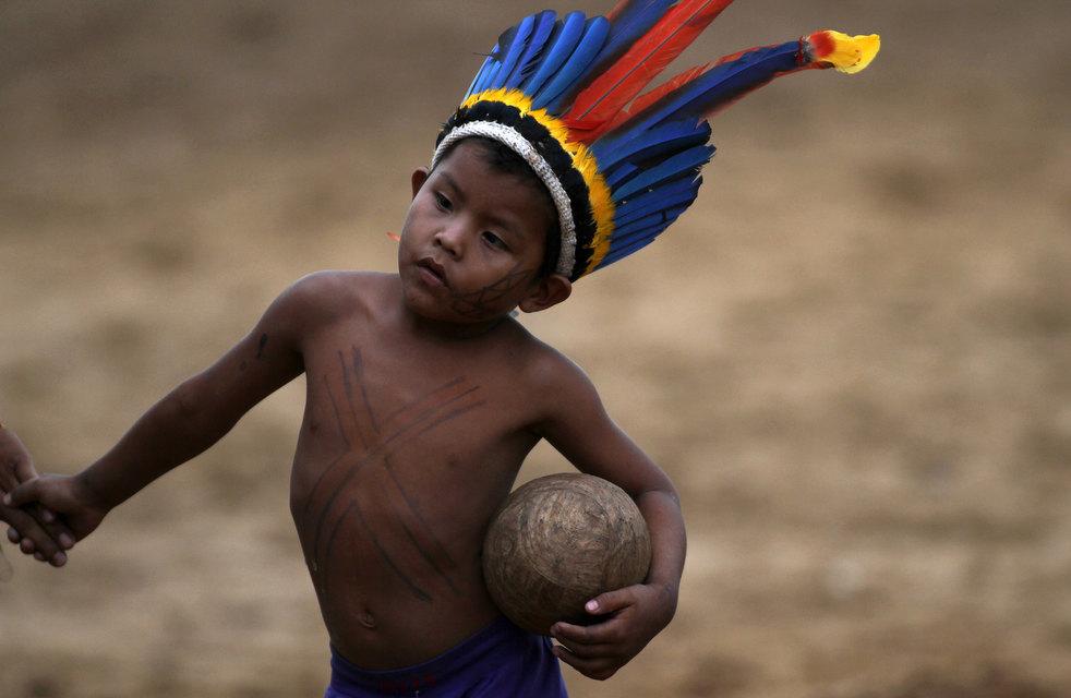 19 brazil adat asli American Games