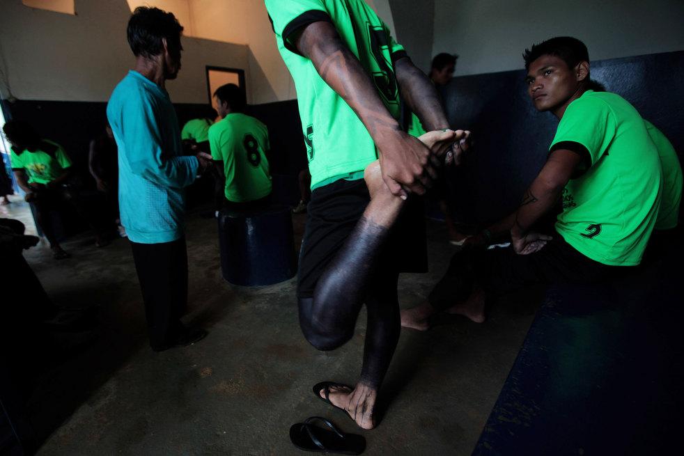 brazil adat penduduk asli Amerika 20 pertandingan