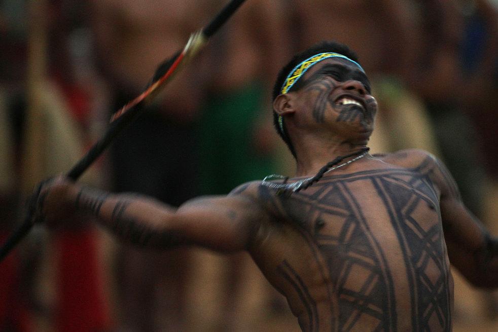 31 brazil adat asli American Games