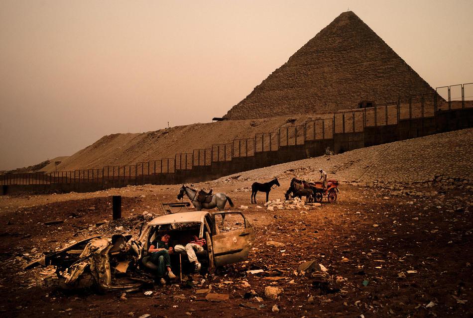 egypt01 krisis industri pariwisata di Mesir