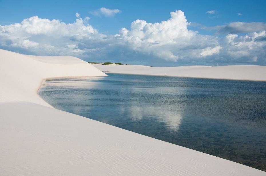 goVdl000 Простыни Мараньяна: Белые пески Lencois Maranhenses Бразилии