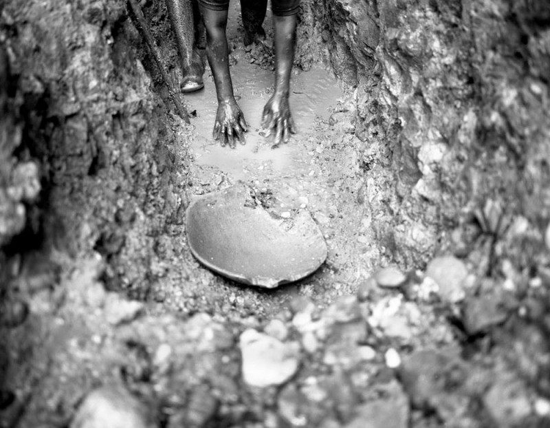 Жизнь на золотых приисках Чоко