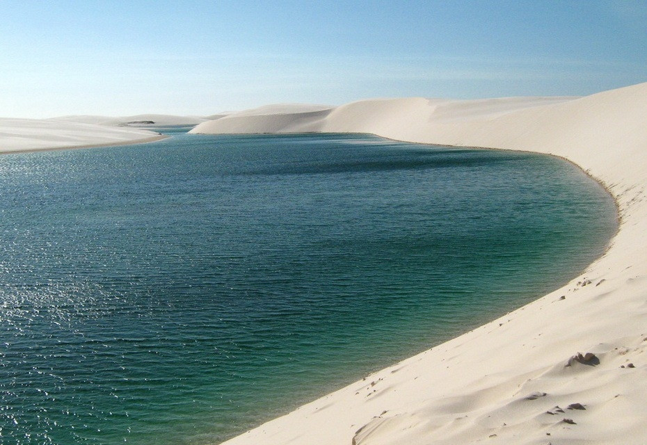 iA5ZZ000 Простыни Мараньяна: Белые пески Lencois Maranhenses Бразилии