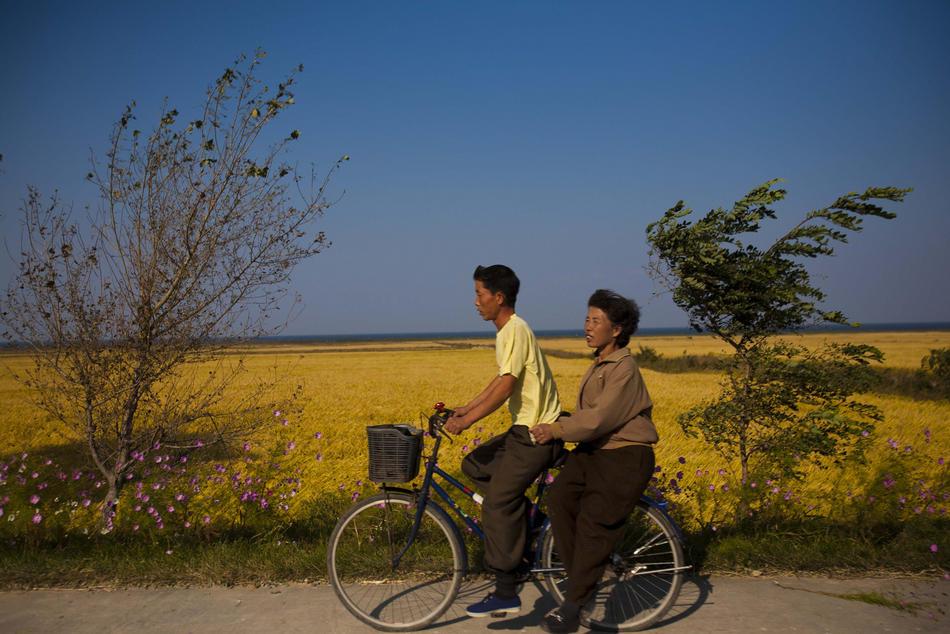 korea01 Северная Корея осенью