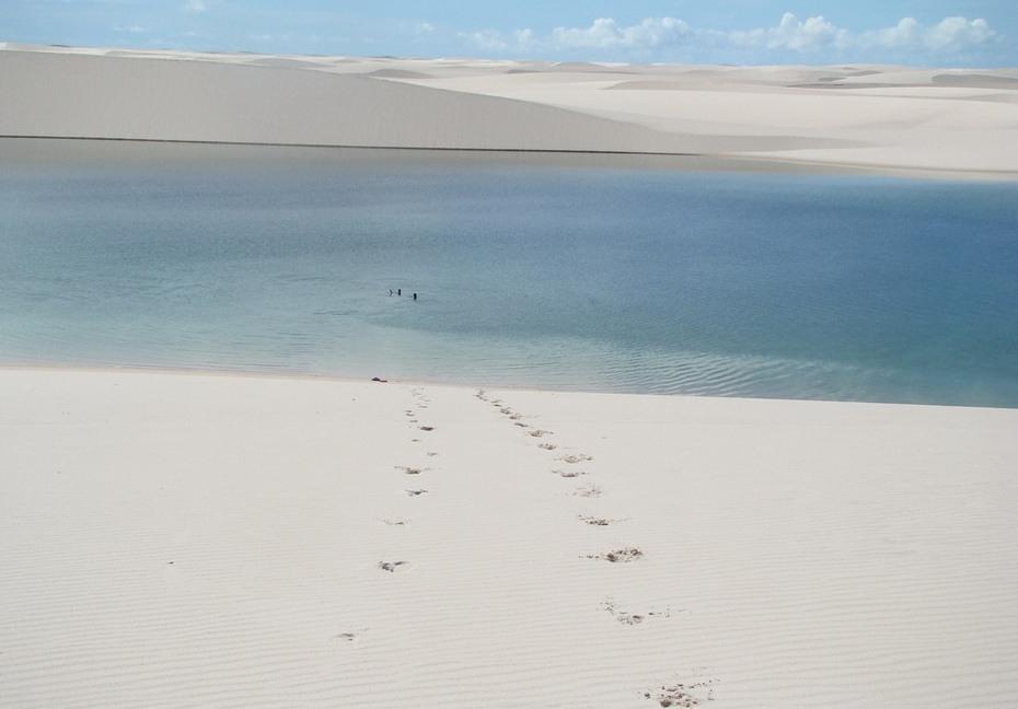 mumea000 Простыни Мараньяна: Белые пески Lencois Maranhenses Бразилии