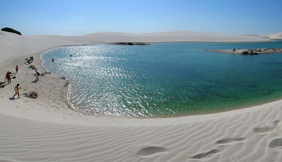 p7LmL000 Простыни Мараньяна: Белые пески Lencois Maranhenses Бразилии