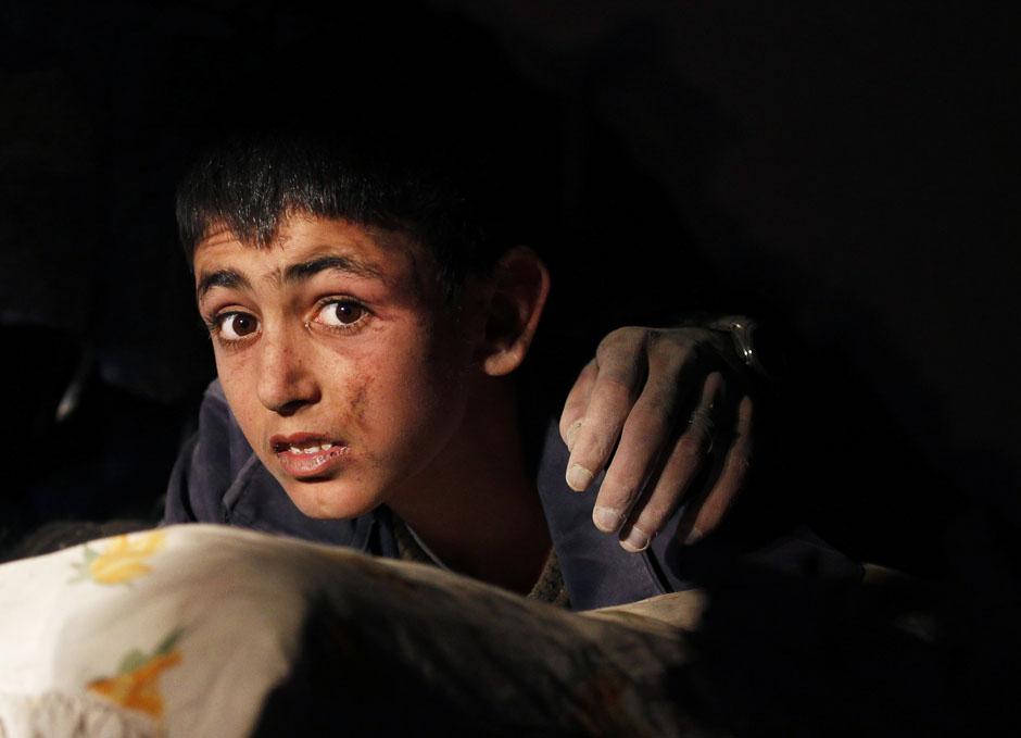 pic25 terbaik foto dari Reuters Oktober