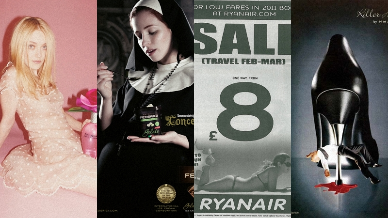 reklama 10 скандальных рекламных кампаний