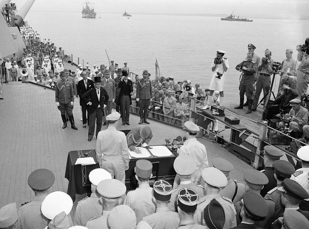 Второй мировой войны 14 августа 1945