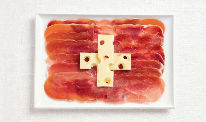 switzerland 700x476 Вкусные флаги разных стран мира