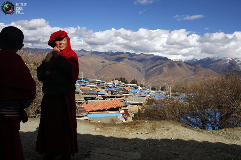 tibet 002 Тибетские монахини