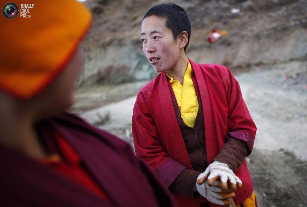 tibet 004 Тибетские монахини