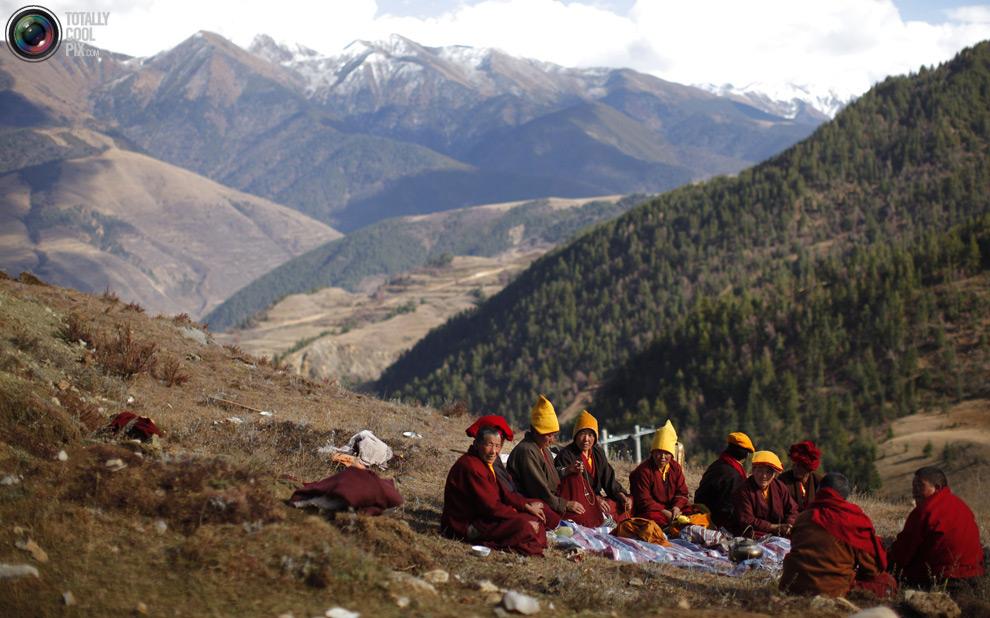 tibet 005 Тибетские монахини