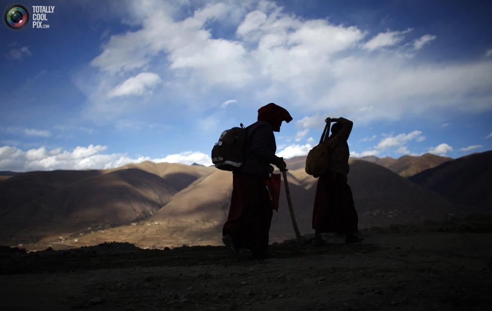 tibet 006 Тибетские монахини
