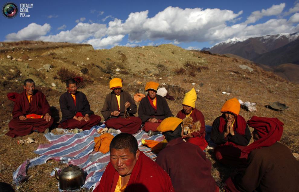 tibet 008 Тибетские монахини