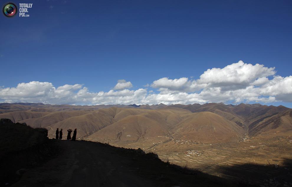 tibet 011 Тибетские монахини
