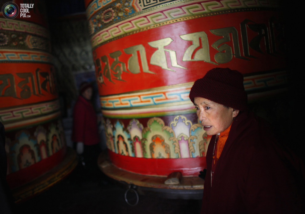 tibet 016 Тибетские монахини
