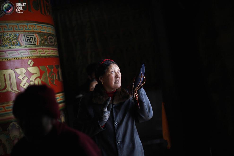 tibet 018 Тибетские монахини