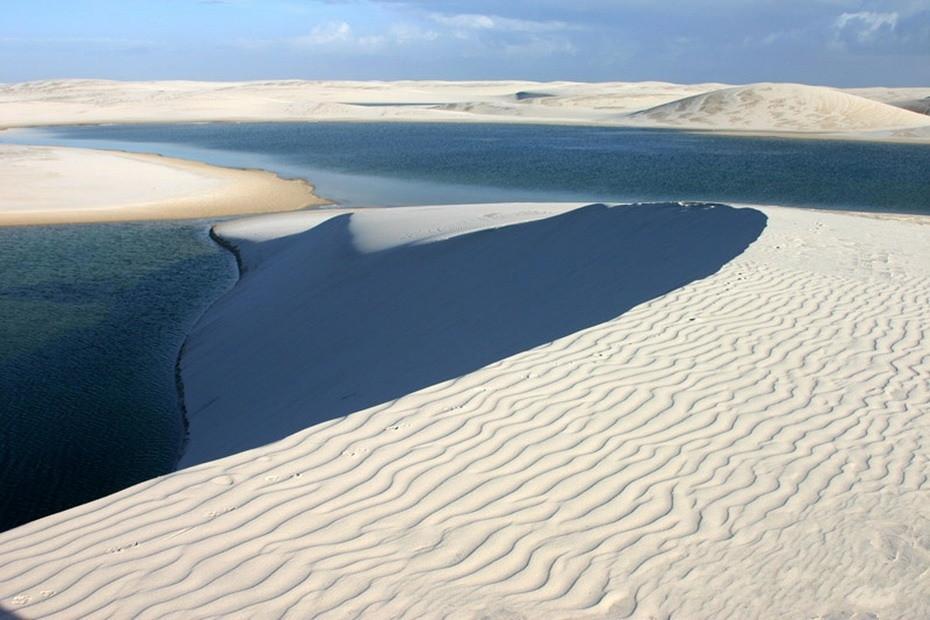 vWnzc000 Простыни Мараньяна: Белые пески Lencois Maranhenses Бразилии