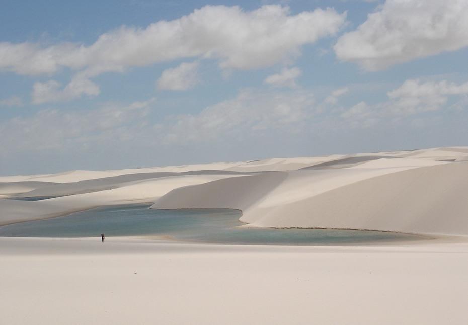 wJStf000 Простыни Мараньяна: Белые пески Lencois Maranhenses Бразилии