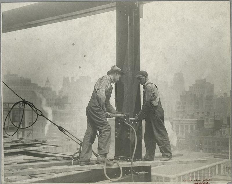 0038 Как строились небоскребы в Нью Йорке