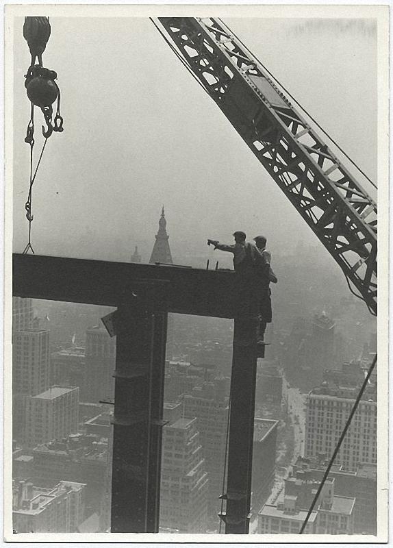 0058 Как строились небоскребы в Нью Йорке