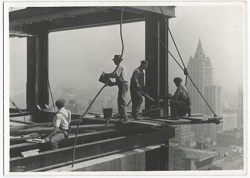 0078 Как строились небоскребы в Нью Йорке