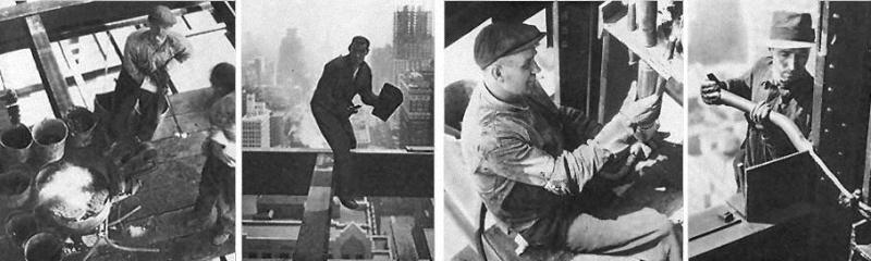 0088 Как строились небоскребы в Нью Йорке