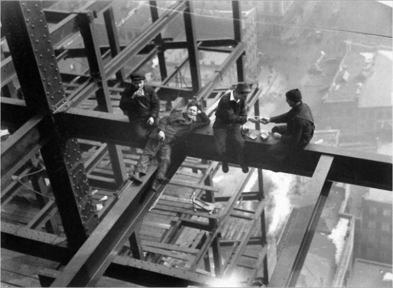0108 Как строились небоскребы в Нью Йорке