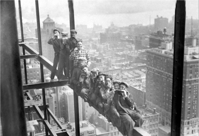 0125 Как строились небоскребы в Нью Йорке