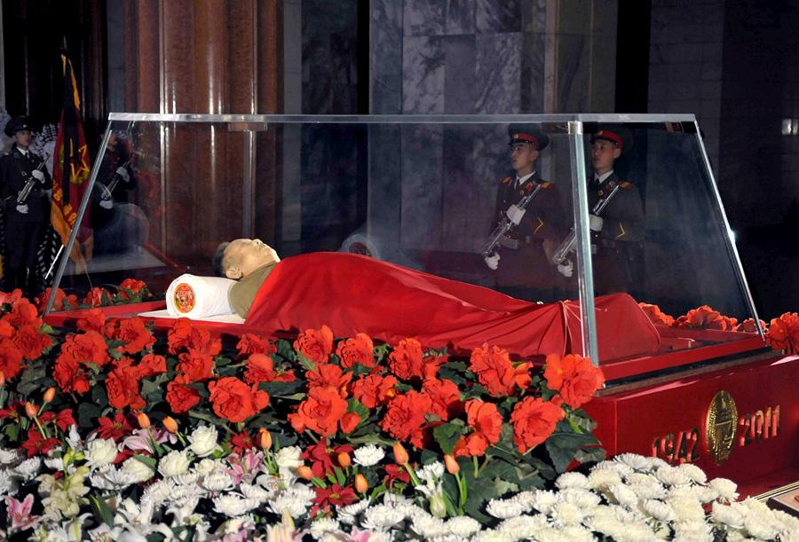 0139 В Пхеньяне проходит церемония похорон Ким Чен Ира