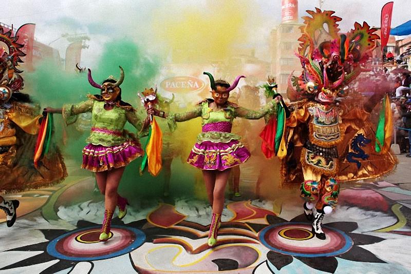 0141 hari libur Bolivia Diablada