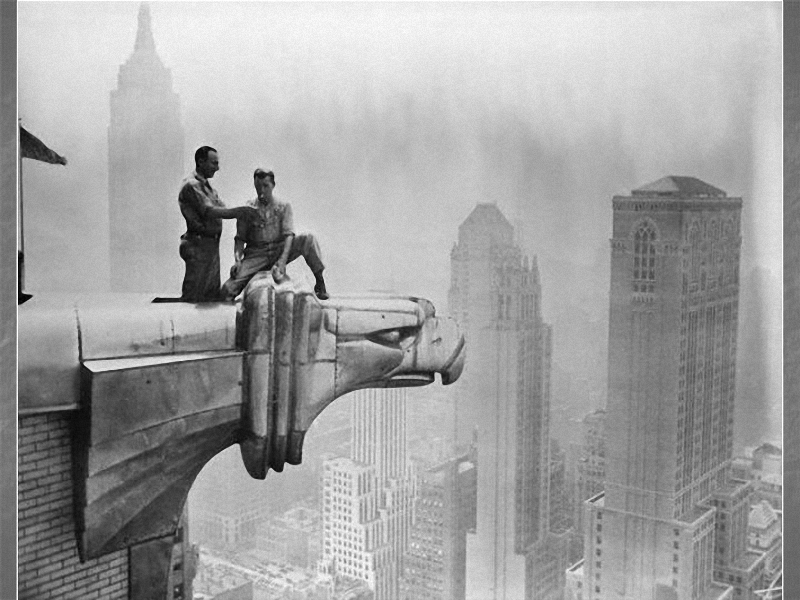 0165 Как строились небоскребы в Нью Йорке