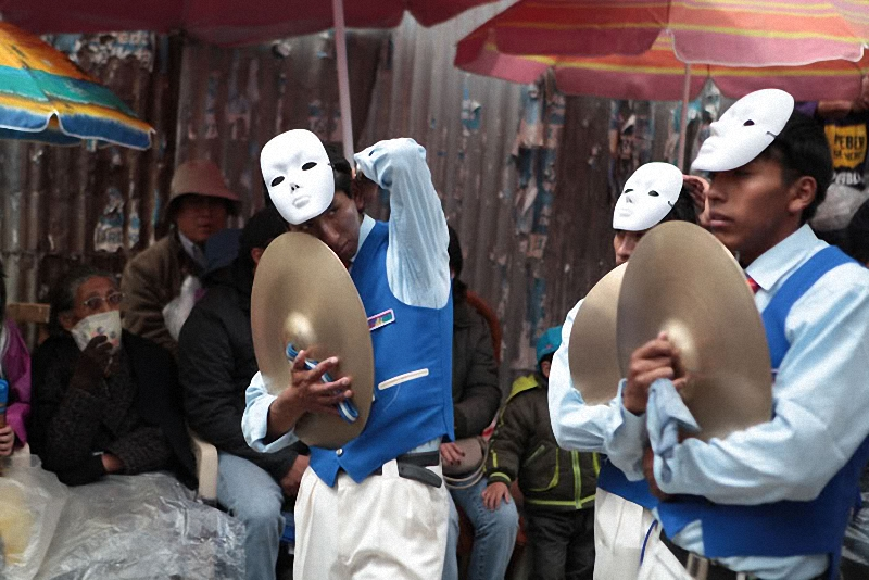 0171 hari libur Bolivia Diablada