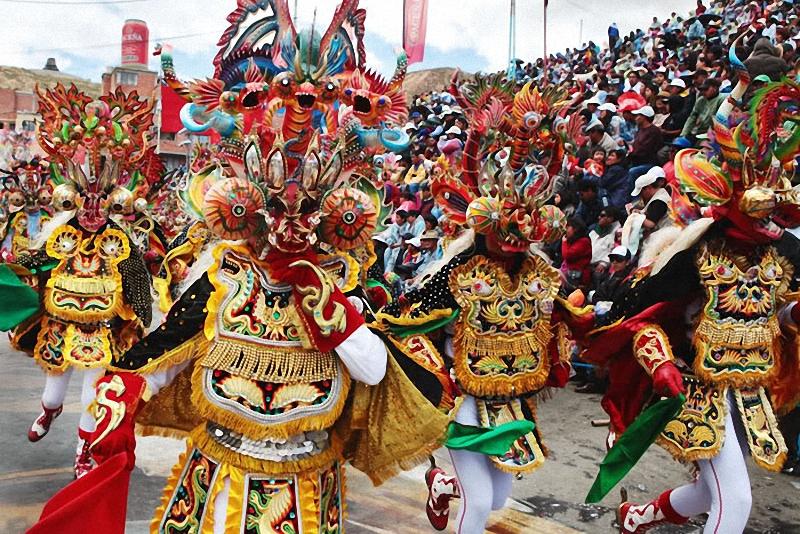 0201 hari libur Bolivia Diablada
