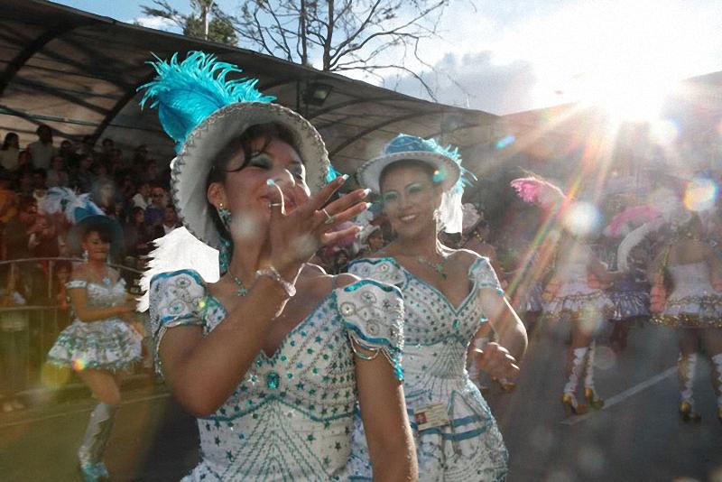 0211 hari libur Bolivia Diablada