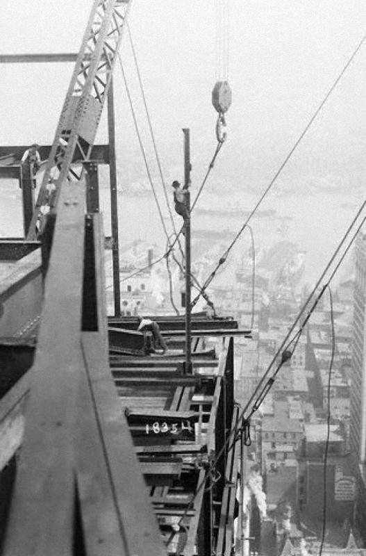 0217 Как строились небоскребы в Нью Йорке