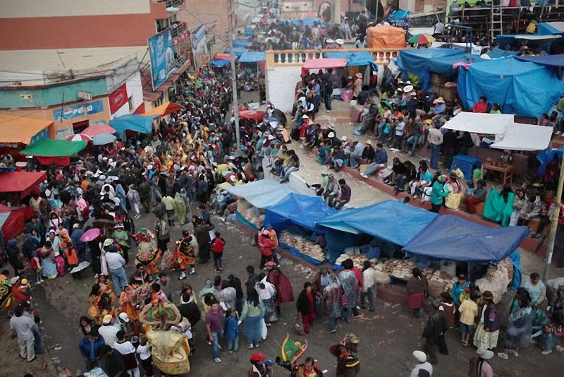0231 hari libur Bolivia Diablada