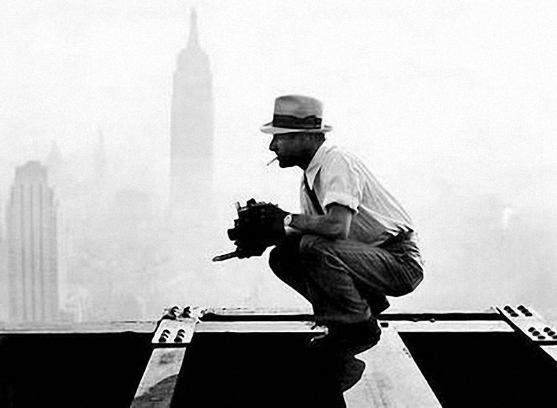 0235 Как строились небоскребы в Нью Йорке