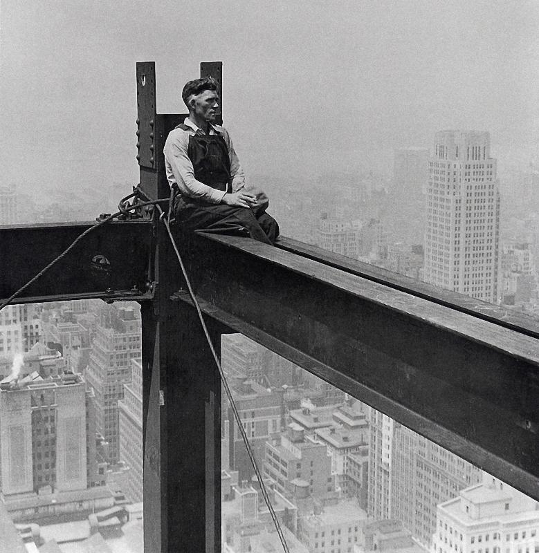 0245 Как строились небоскребы в Нью Йорке