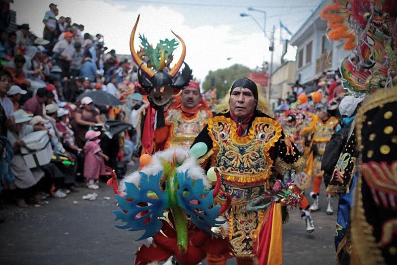 035 Bolivia liburan Diablada