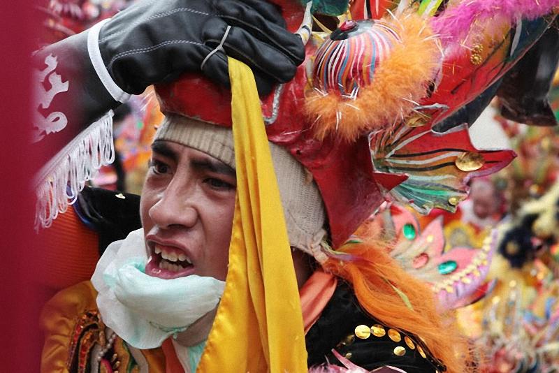 036 Bolivia liburan Diablada