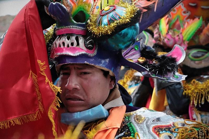 041 Bolivia liburan Diablada