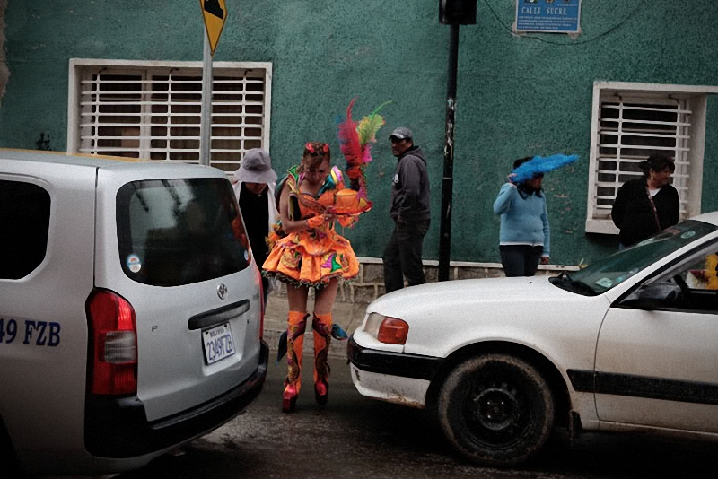 050 Bolivia liburan Diablada