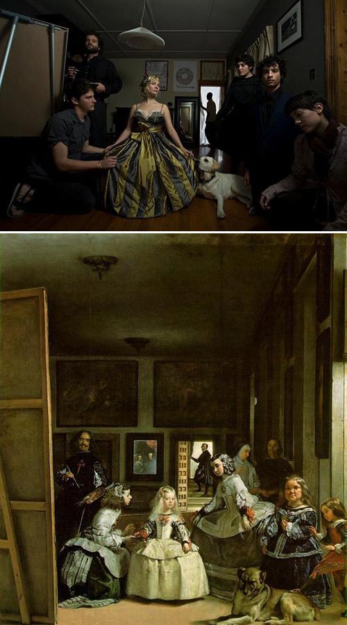 0719 Ремейки знаменитых произведений искусства
