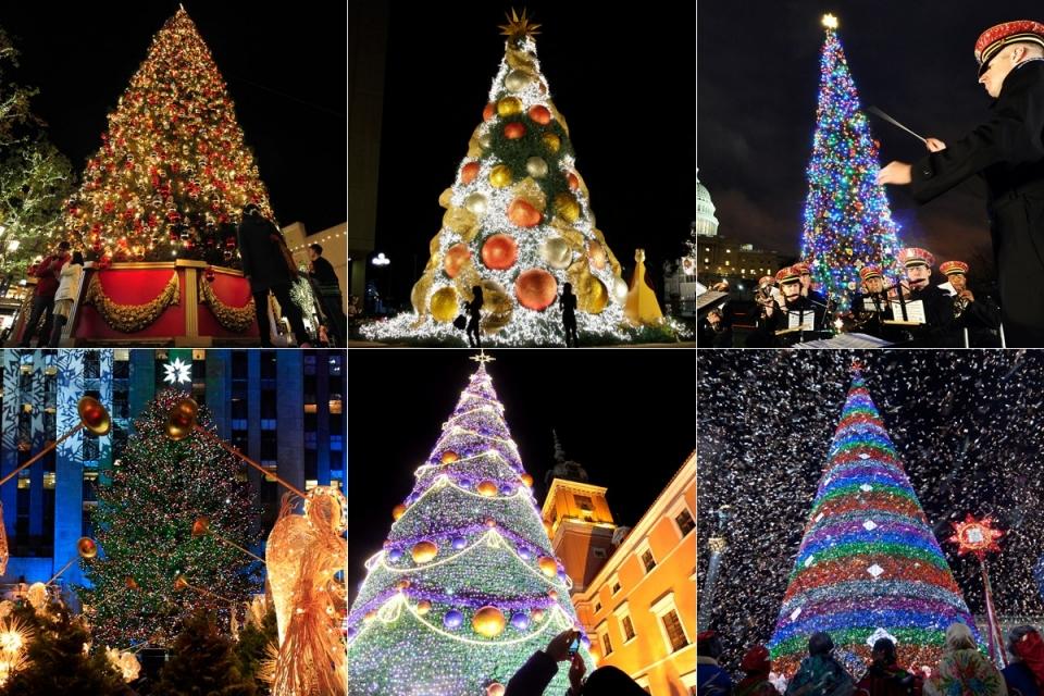 080 Рождественские елки со всего мира