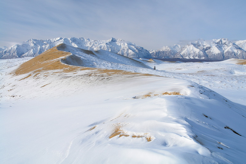 1054 Чарские пески: холодная Сахара Забайкалья