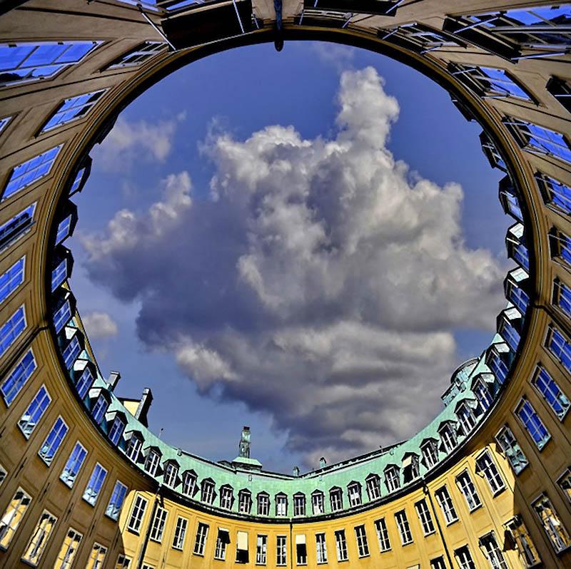 11174 Небо в архитектурной рамке