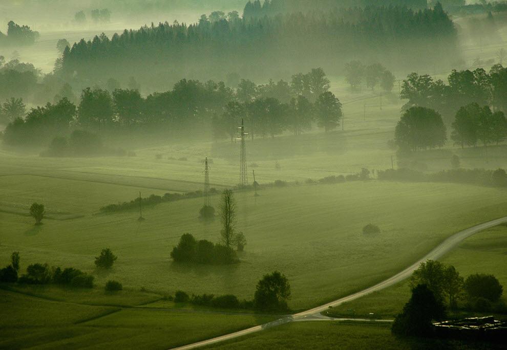 1166 100 изумительных фотографий тумана (часть 2)