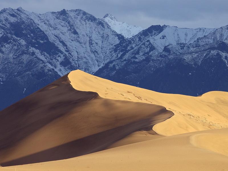 1182 Чарские пески: холодная Сахара Забайкалья